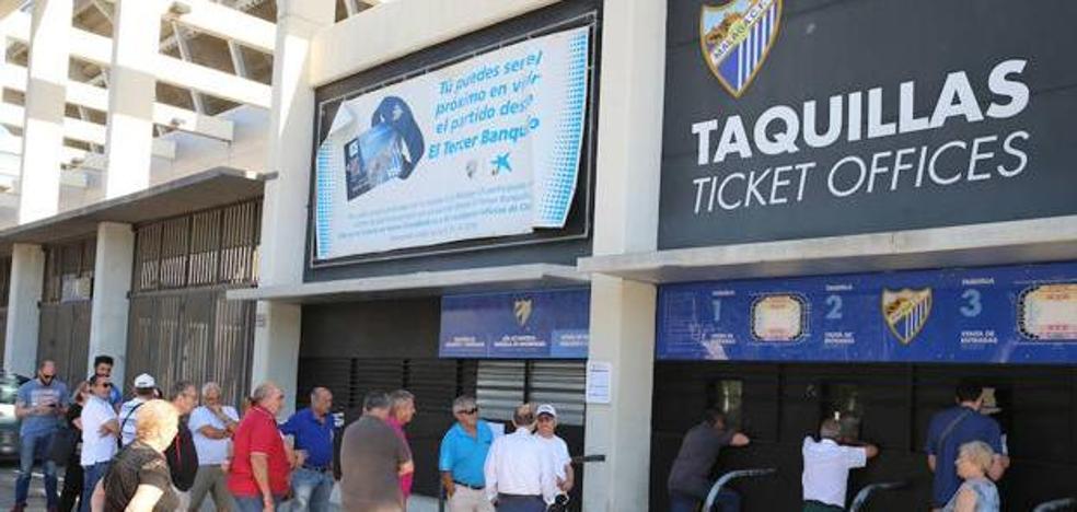 La campaña de abonos del Málaga se reactiva a tiempo