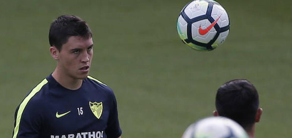 Ricca, otro jugador del Málaga que podrá marcharse cedido a un equipo de Primera