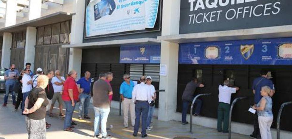 El Málaga supera ya los 15.000 abonados