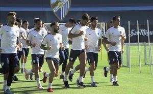 El Málaga ya suda con Muñiz