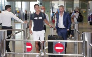 Renato Santos, apuesta para el ataque del Málaga