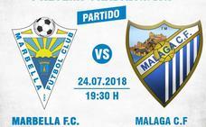 El Málaga y el Marbella no deshacen el empate inicial