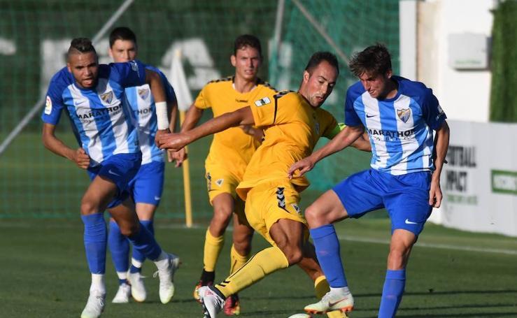 Empate sin goles entre el Málaga y el Marbella