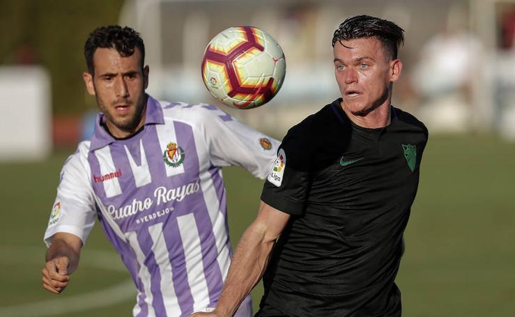 Así fue el amistoso entre el Málaga y el Valladolid