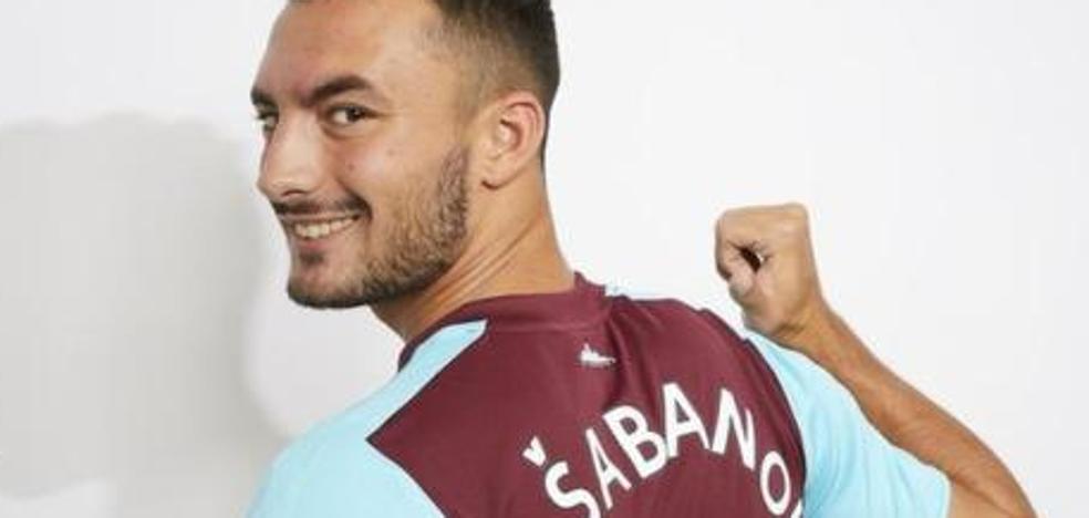 El joven extremo Haksabanovic llega cedido por el West Ham