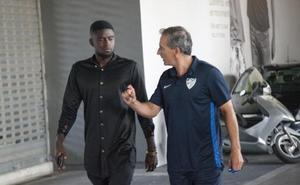 N'Diaye llega a Málaga para pasar el reconocimiento médico