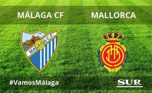 El Málaga-Mallorca termina sin goles