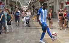 N'Diaye: «El Málaga está en Segunda, pero el proyecto es bueno; por eso dije que sí»