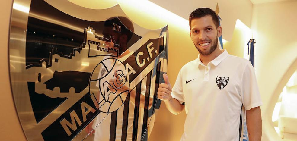 Dani Pacheco buscará en el Málaga su quinto ascenso a la élite
