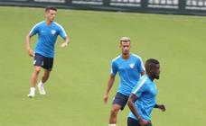 El Málaga se prepara para su debut en Segunda
