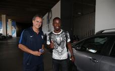 El delantero marfileño Koné pasa reconocimiento médico en La Rosaleda