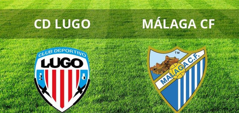 El Málaga logra una agónica victoria en Lugo (1-2)