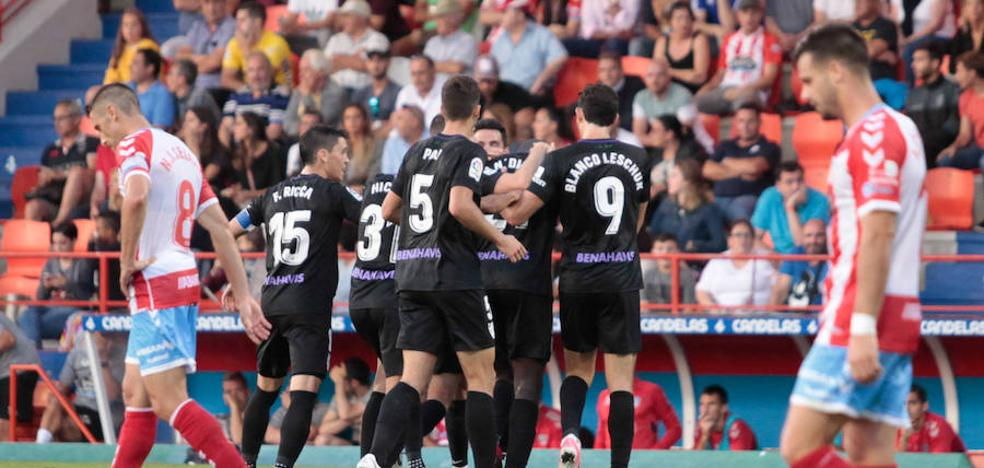 Un Málaga con fe, humildad y ambición (1-2)