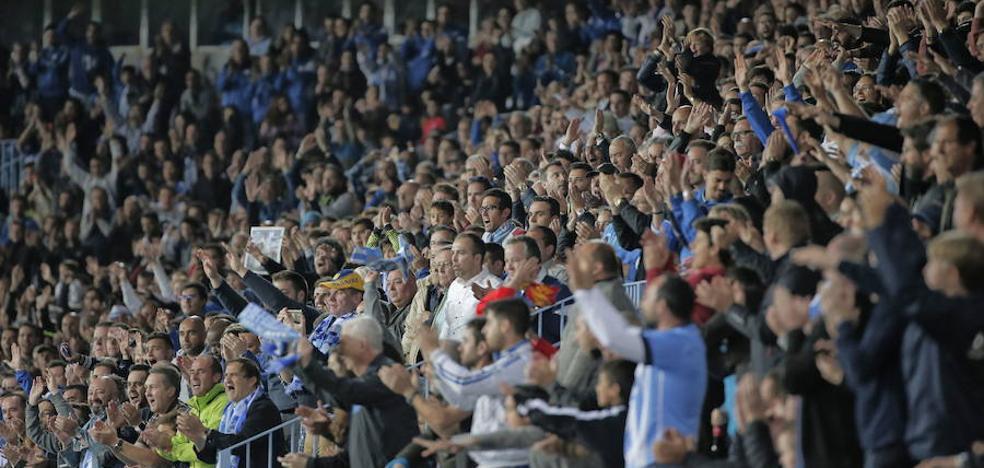 El Málaga estudia mantener abierta toda la temporada la venta de abonos%u200A