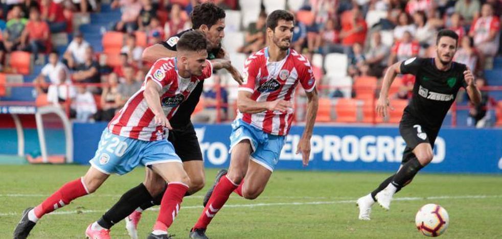 El Málaga, segundo tras una jornada con seis empates en once partidos