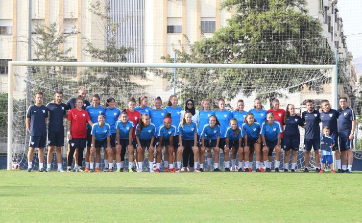 Conoce a todas las jugadoras del Málaga CF Femenino 18/19