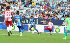 El Almería deja al Málaga fuera de la Copa
