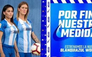 El Málaga saca una equipación para mujeres