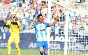 Cómoda victoria del Málaga ante el Córdoba