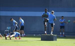 Hicham no está descartado para jugar en Las Palmas