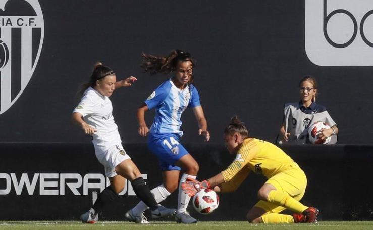 El Málaga logra su primer punto esta temporada