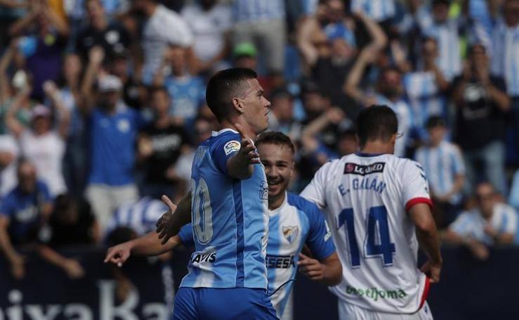 El Málaga gana al Rayo Majdahonda