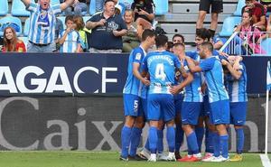 El Málaga defiende el liderato ante el Albacete