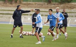 Renato se recupera de su lesión y apunta ya al once titular para recibir al Albacete
