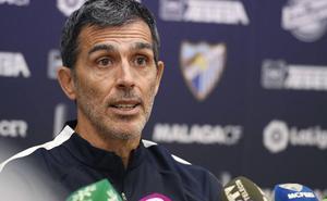 Muñiz, entrenador del Málaga: «Ahora no le doy importancia a la clasificación»