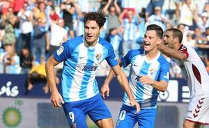 Remontada festiva del Málaga (2-1)