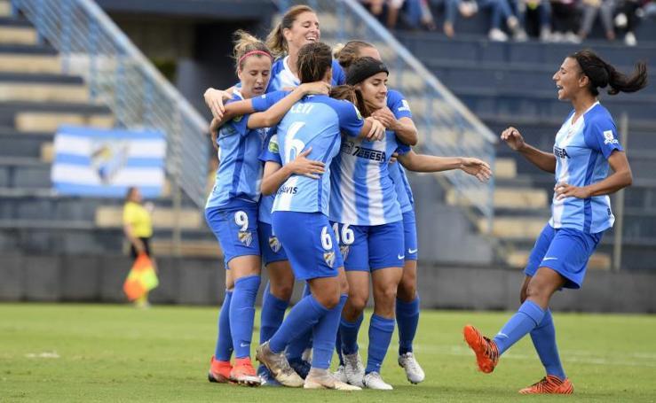 Victoria del Málaga CF Femenino frente al Espanyol