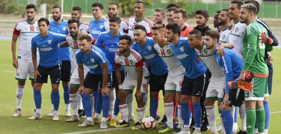 Triunfo del Málaga en el amistoso contra un combinado marroquí (2-1)