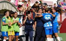 Paso adelante del Málaga en Las Gaunas