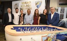 El Málaga y San Miguel crean una liga de futbolín