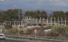 La ciudad deportiva del Málaga, a menor ritmo