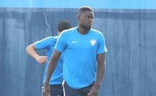 N'Diaye, jugador del Málaga: «Pido disculpas a todos, fue una mala respuesta»