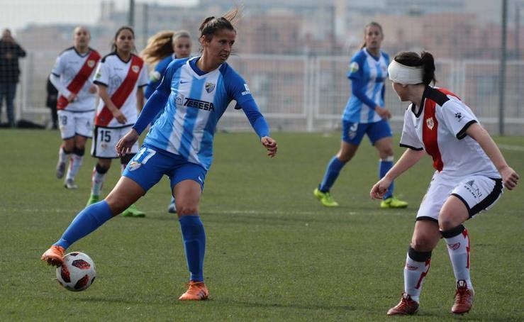 El Málaga cae ante el Rayo Vallecano (1-0)
