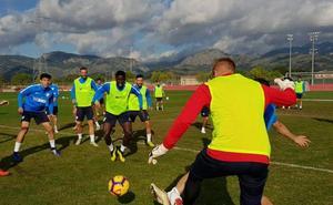 El Málaga se entrena en Mallorca