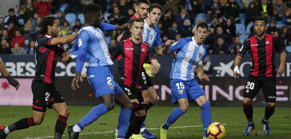 Intolerable derrota del Málaga