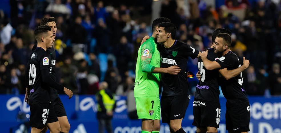 El Málaga vuelve a ser el Málaga (0-2)