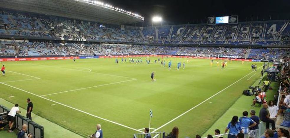 El Málaga-Almería, el viernes 1 de febrero