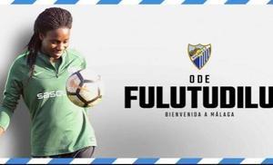El Málaga ficha a la congoleña Fulutudilu