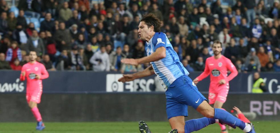 Blanco sufre una lesión mínima de hombro, pero es seria duda para Tenerife