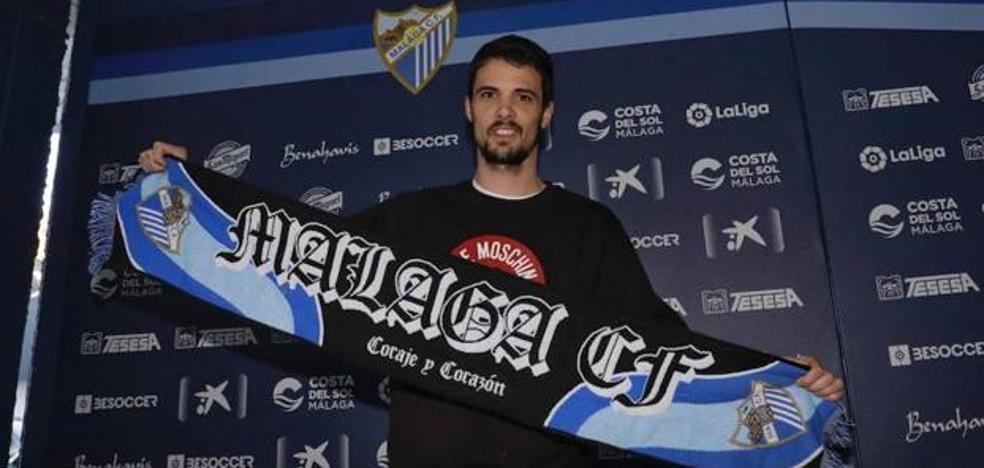 El Málaga hace oficial el fichaje de Erik Morán