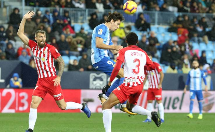 El Málaga se mide al Almería en La Rosaleda