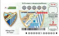 El Málaga femenino repartirá suerte junto a la Lotería Nacional