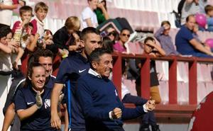 Empate triste del Málaga con el Logroño (1-1)