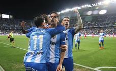 El Málaga se descompone en el segundo tiempo ante Osasuna (1-2)