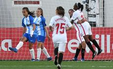 El Málaga femenino toca fondo en Sevilla