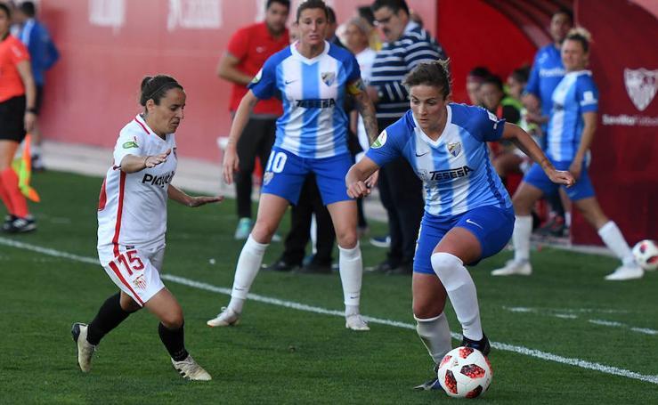 El Málaga cae ante el Sevilla
